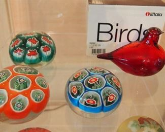 Red Iittala Bird (MIB)