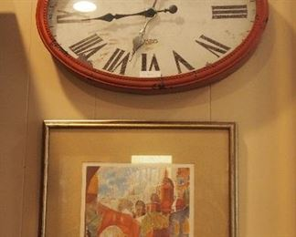 Great Decorative Clock