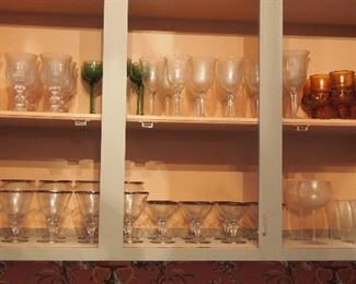 Lots Vintage Glass