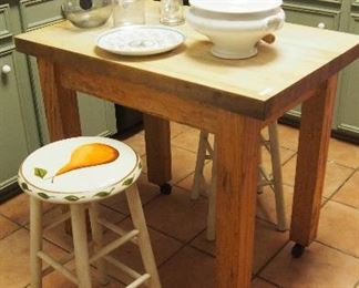 Darling Painted Stools