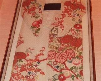 Framed Chinese Robe