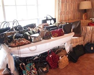 Lots Designer Purses and misc.
