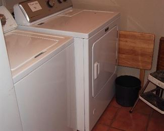 Washer & Dryer, Freezer & Fridge