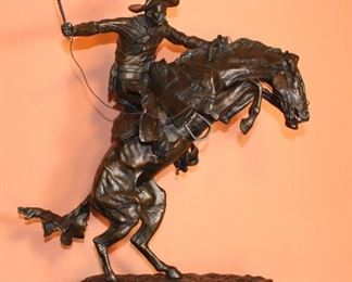 Frederick Remington, Bronco Buster.