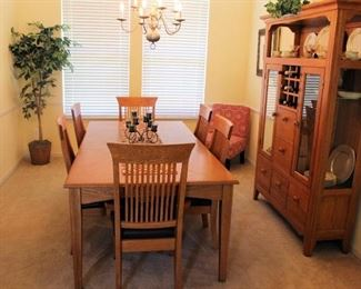 Steve Yzerman dining room set
