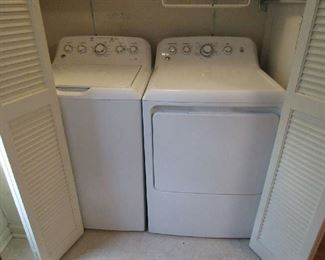 GE matching washer and dryer