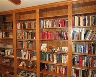 Huge selection of books