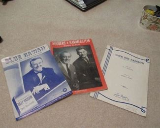 Large selection of sheet music