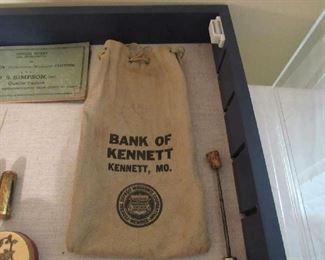 Neat old bank bag