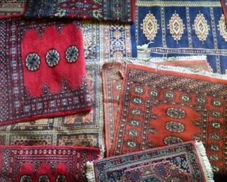 LOTS OF ORIENTAL RUGS IN ALL SIZES