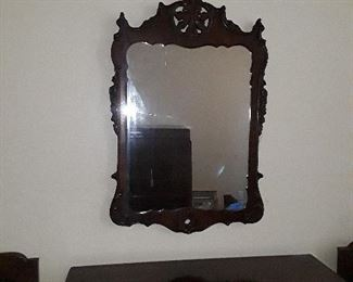 All Wood Mirror