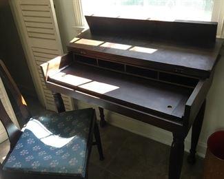 Fold Top Desk (open)
