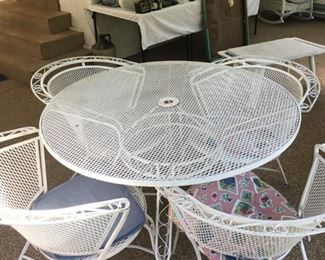 Very Nice and Sturdy Wrought Iron? Patio Set