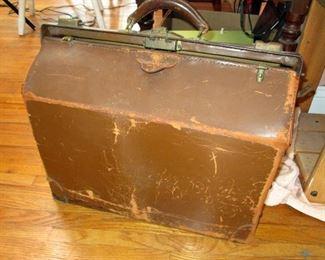 Old Leather Medical Case