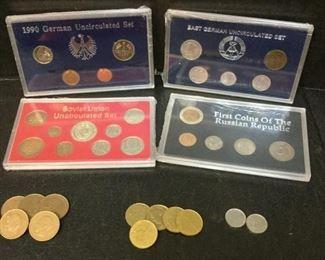 coins german russian