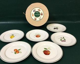 dinnerware ulster ceramic ireland fruit plates
