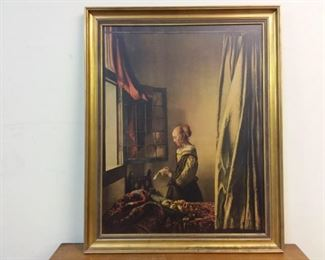 johannes vermeer print