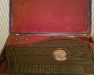 old instrument in case