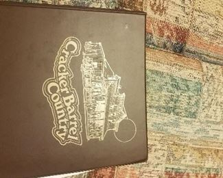 CRACKER BARREL BOOK WITH SIGNATURES
