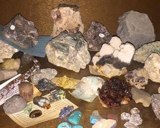 Hundreds of Mineral specimens