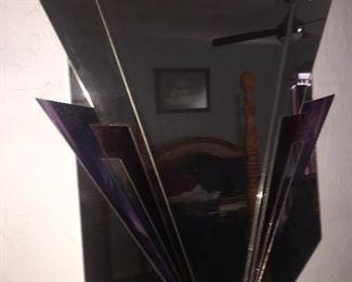 Very cool Art Deco mirror