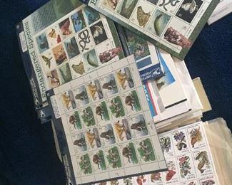 Portion of Stamp collection