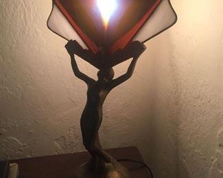 Great Art Deco style lamp