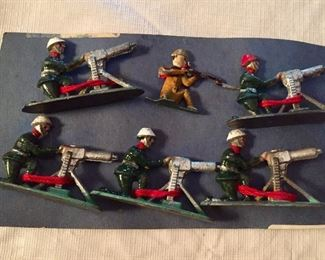 ANOTHER collection...military figures and a lot of them.