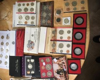 US and Foreign coins