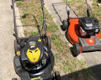 """""""A cut above"""" lawnmowers"""