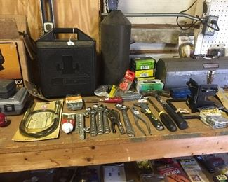 A garage full of tools