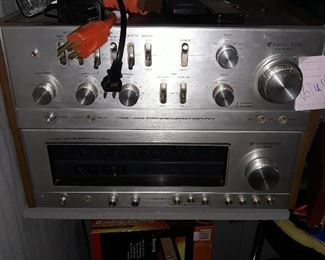 Kenwood Tuner/Receiver and amplifier