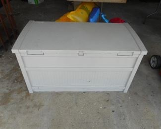 Quality vinyl storage bench container