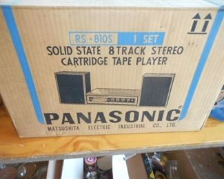 8 Track stereo Tape Player
