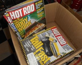 Hot Rod Magazines