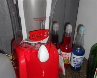 Coca Cola slush Blender