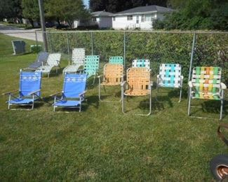 Lawn Chairs and loungers