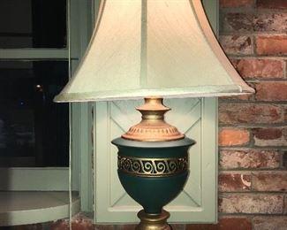 Several decorative lamps.