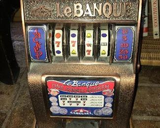 LeBanque coin machine.