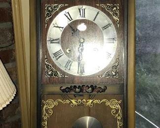 Beacon 8-day wall clock.