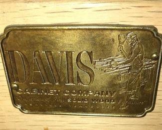 Several pieces vintage Davis Cabinet bedroom furniture.