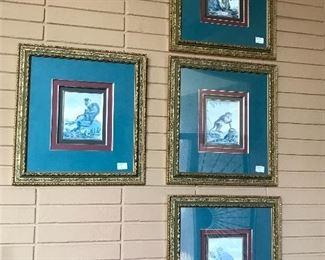 Decorative monkey prints.