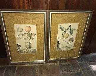 More framed prints.