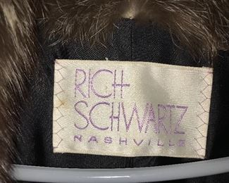 Gorgeous full-length mink boat from Rich Schwartz, Nashville.