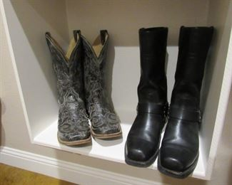 Worn once Harley Boots