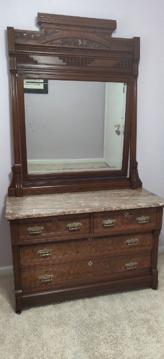 1800s Eastlake Dresser excellent condition.