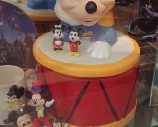 """RARE MICKEY MOUSE COOKIE JAR"