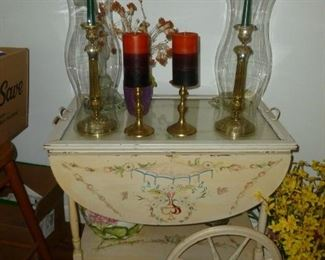 Cute vintage tea cart