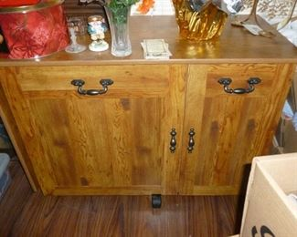 Nice sewing cabinet