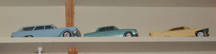 Vintage Dealer Promo Cars, Car